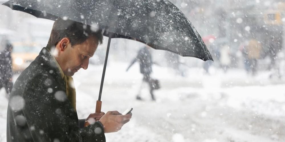 Смартфон - почему он не работает в сильные морозы