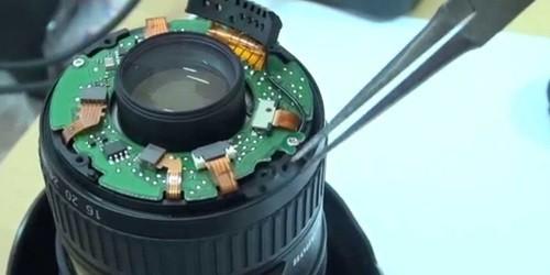 Ремонт объектива фотоаппарата в Киеве