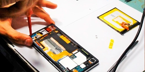 Ремонт мобильных телефонов Sony