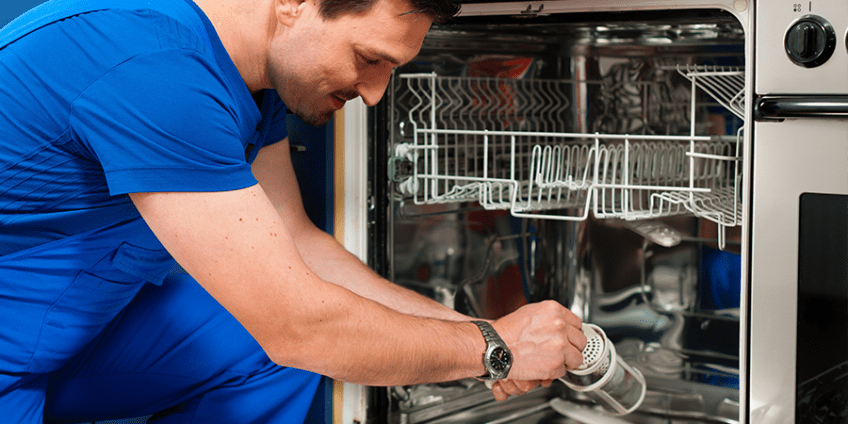 Обслуживание посудомоечной машины