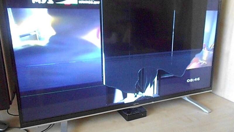 Ремонт, замена матрицы телевизоров в Киеве