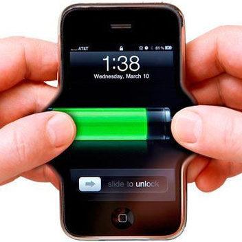 экономный расход батареи iPhone