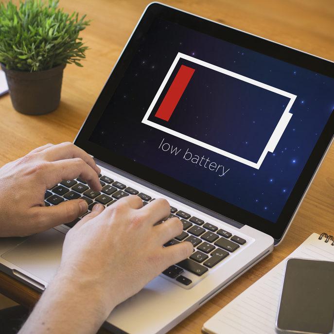 Увеличение времени работы ноутбука от аккумулятора