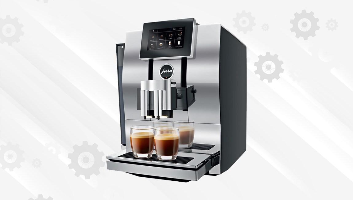 Чистка корпуса кофемашины в подарок - СЦ ТехноДоктор